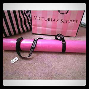 pink yoga mat perfect gift for yoga girlfriend